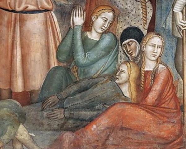 Литературные мотивы. Магдалина, лик Данте и тайные символы, которые обнаруживают герои книг на фресках и иконах