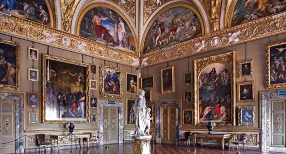 Палатинская галерея в Палаццо Питти