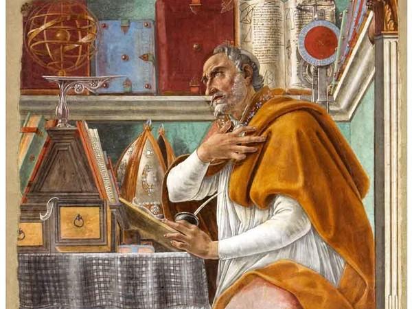 Боттичелли - Святой Августин
