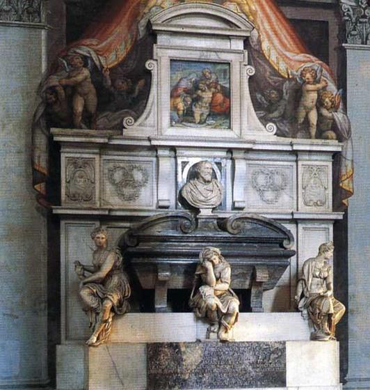 Надгробный памятник Микеланджело